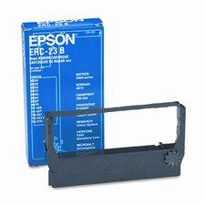 ERC23B/ERC23BR Cash Register Ribbon, Nylon, Black