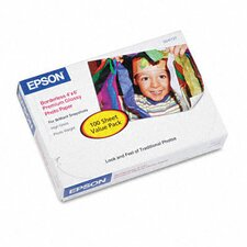 S041727 High-Gloss Premium Photo Paper, 100 Sheets/Pack