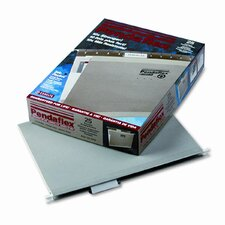 Reinforced Hanging File Folders, Letter, 25/Box