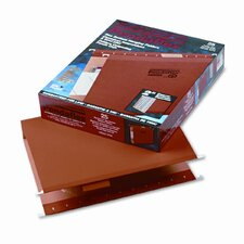 "Reinforced 2"" Extra Capacity Hanging Folders, Letter, 25/Box"