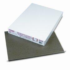Reinforced Hanging File Folders, Kraft, X-Ray, 25/Box