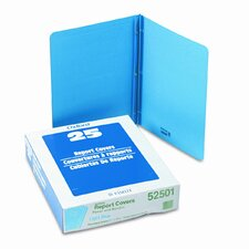 """Oxford Paper Report Cover, Tang Clip, Letter, 1/2"""" Capacity, 25/Box"""
