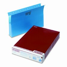 "Two"" Expansion Hanging Box Bottom Folders with Sides, Legal, 25/Box"