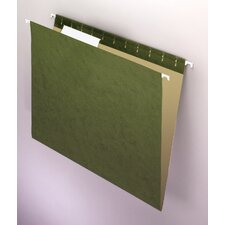 Essentials Hanging File Folders, 1/3 Tab, Letter, 25/Box