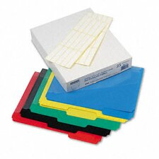 Hot Pocket Poly File Folders, 1/3 Cut Top Tab, Letter, 25/Box