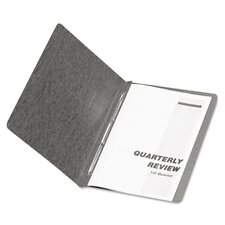 "Oxford Pressguard Coated Report Cover, Prong Clip, Letter, 3"" Capacity"