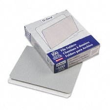 <strong>Esselte Pendaflex Corporation</strong> Two-Tone File Folders, Straight Cut, Top Tab, Letter, 100/Box