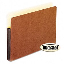 "Watershed 3 1/2"" Expansion File Pockets, Straight Cut, Letter"