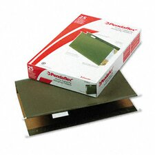 "<strong>Esselte Pendaflex Corporation</strong> Reinforced 2"" Extra Capacity Hanging File Folders, Legal, 25/Box"