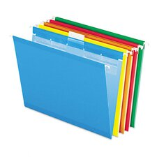 <strong>Esselte Pendaflex Corporation</strong> Ready-Tab Lift Tab Reinforced Hanging Folders, 1/5 Tab, Letter, 25/Box