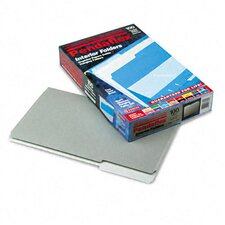 Interior File Folders, 1/3 Cut Top Tab, Legal, 100/Box