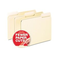 <strong>Esselte Pendaflex Corporation</strong> Cutless File Folders, 1/3 Cut Top Tab, Letter, 100/Box