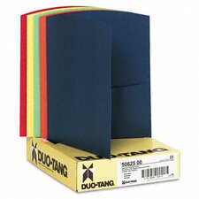 Oxford Contour Two-Pocket Reycled Paper Folder, 100-Sheet Capacity