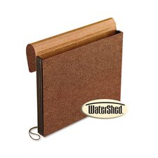 "Watershed 3 1/2"" Expansion Wallets, Elastic Closure, Letter"