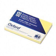 <strong>Esselte Pendaflex Corporation</strong> Oxford Unruled Index Cards, 5 X 8, 100/Pack
