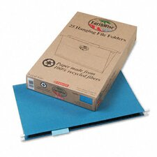 Earthwise Earthwise 100% Recycled Paper Hanging Folders, Kraft, Legal, 25/Box
