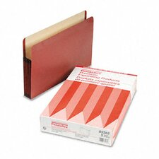 "Premium Expansion File, 5 1/4"" Expansion, Straight Cut, Legal, 5/Box"