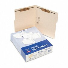 Folders with Two Bonded Fasteners, 1/3 Cut Top Tab, Letter, 50/Box