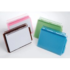 View Front Spiral Index Cards 3x5