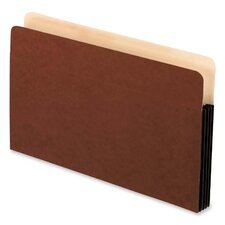 "File Pockets,Antimicrobial,3-1/2"" Exp.,Legal,10/BX,Redrope"