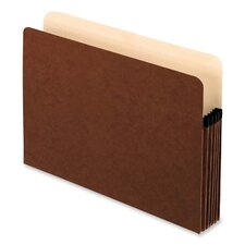 "File Pockets,Antimicrobial,5-1/4"" Exp.,Letter,10/BX,Redrope"