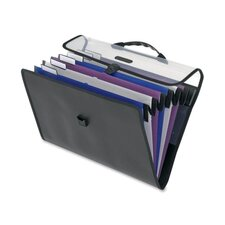 "Mobile/Hanging File,6 Pockets,Lgl,16-3/4""x1-5/8""x11-1/2"",Ast"