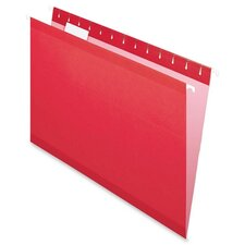 Reinforced Hanging File Folders Legal, 25/Box