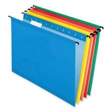 Surehook Hanging File Folders, Letter, 20/Box