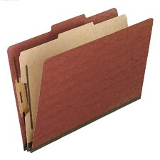 <strong>Esselte Pendaflex Corporation</strong> Pressboard Classification Folders, Legal, Four-Section, 10/Box