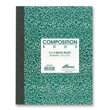 Graph Ruled Composition Book