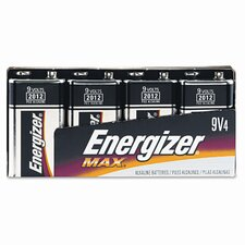 Alkaline Energizer Battery, 9 Volt