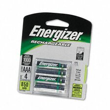 E2 Nimh Rechargeable Batteries, Aaa, 4 Batteries/Pack