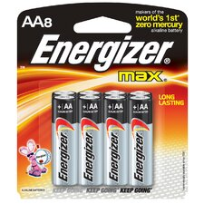 AA Max Alkaline Battery (Set of 8)