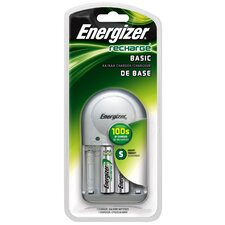 <strong>Energizer®</strong> Recharge Basic AA or AAA Battery Charger
