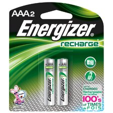 <strong>Energizer®</strong> AAA ACCU Rechargeable High Energy Battery (2 Pack)