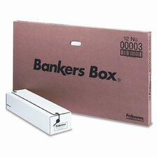 Bankers Box Liberty Storage Box, Card Size, 12/Carton