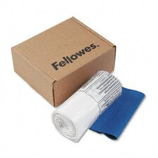 <strong>Fellowes Mfg. Co.</strong> Powershred Shredder Bags, 6-7 Gal Capacity, 100 Bags and Ties/Carton