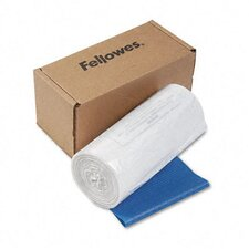 Powershred Shredder Bags, 14-20 Gal, 50 Bags and Ties/Carton
