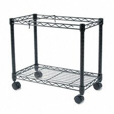 "14.5"" High-Capacity Rolling File Cart"