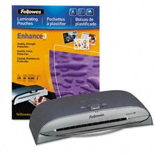 "<strong>Fellowes Mfg. Co.</strong> Saturn Sl-95 Laminating Machine, 9-1/2"" x 5 Mil Maximum Document Thickness"