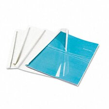 Thermal Binding System Covers, 30 Sheets, 10/Pack
