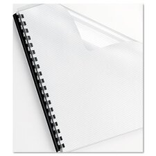 <strong>Fellowes Mfg. Co.</strong> Futura Presentation Binding System Covers, 11-1/4 X 8-3/4, 25/Pack