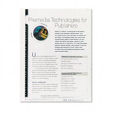 <strong>Fellowes Mfg. Co.</strong> Thermal Binding System Covers, 9 3/4 x 11 1/8, Clear/White, 10 per Pack
