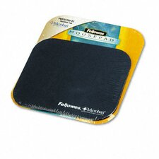 <strong>Fellowes Mfg. Co.</strong> Mouse Pad with Microban, Nonskid Base, 9 X 8