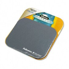 Mouse Pad with Microban, Nonskid Base, 9 X 8