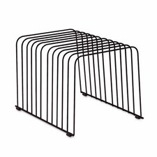<strong>Fellowes Mfg. Co.</strong> Desktop Organizer, 11 Sections, Wire, 9 X 11 3/8 X 8