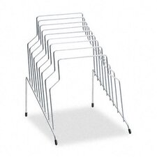 Step File, Eight Sections, Wire, 10 1/8 X 12 1/8 X 11 7/8