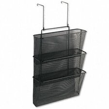 Mesh Partition Additions Three File Pocket Organizer