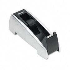 "Office Suites Desktop Tape Dispenser, 1"" Core, Plastic, Heavy Base"