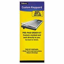 <strong>Fellowes Mfg. Co.</strong> Keyboard Protection Kit, Custom Order, Polyurethane